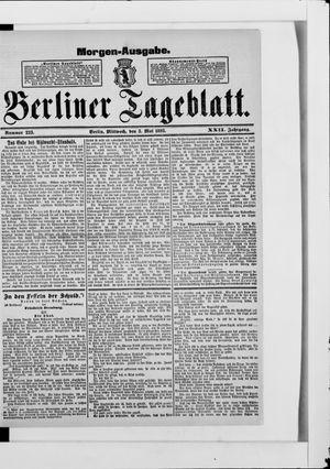 Berliner Tageblatt und Handels-Zeitung vom 03.05.1893