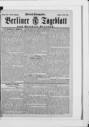 Berliner Tageblatt und Handels-Zeitung on May 5, 1893