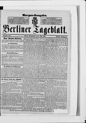 Berliner Tageblatt und Handels-Zeitung vom 06.05.1893