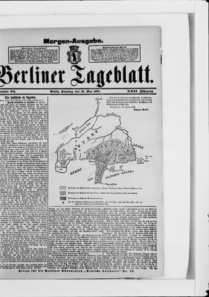 Berliner Tageblatt und Handels-Zeitung vom 28.05.1893