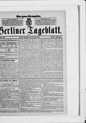 Berliner Tageblatt und Handels-Zeitung vom 30.05.1893