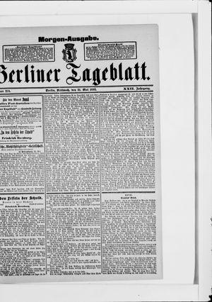 Berliner Tageblatt und Handels-Zeitung vom 31.05.1893