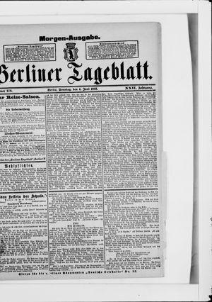 Berliner Tageblatt und Handels-Zeitung vom 04.06.1893