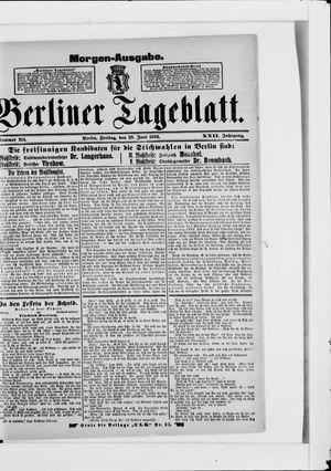 Berliner Tageblatt und Handels-Zeitung on Jun 23, 1893