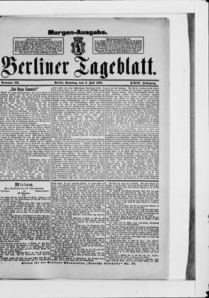 Berliner Tageblatt und Handels-Zeitung vom 02.07.1893