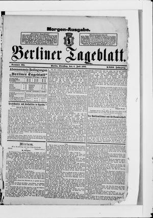 Berliner Tageblatt und Handels-Zeitung vom 04.07.1893
