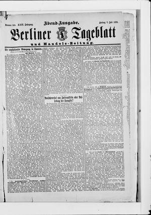 Berliner Tageblatt und Handels-Zeitung vom 07.07.1893
