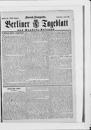 Berliner Tageblatt und Handels-Zeitung on Jul 8, 1893