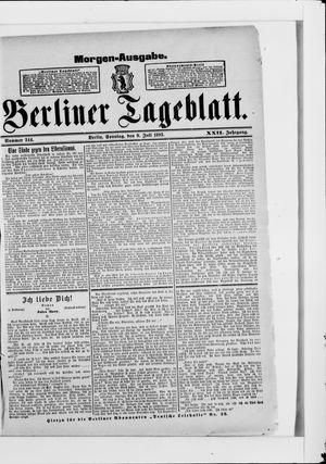 Berliner Tageblatt und Handels-Zeitung vom 09.07.1893