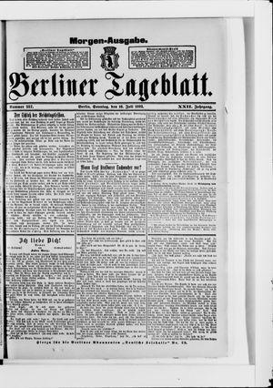 Berliner Tageblatt und Handels-Zeitung vom 16.07.1893