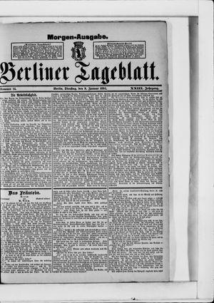 Berliner Tageblatt und Handels-Zeitung vom 09.01.1894