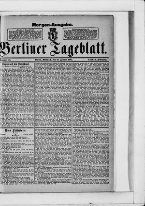 Berliner Tageblatt und Handels-Zeitung vom 10.01.1894