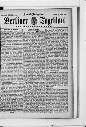 Berliner Tageblatt und Handels-Zeitung vom 30.01.1894
