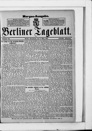 Berliner Tageblatt und Handels-Zeitung vom 03.03.1894