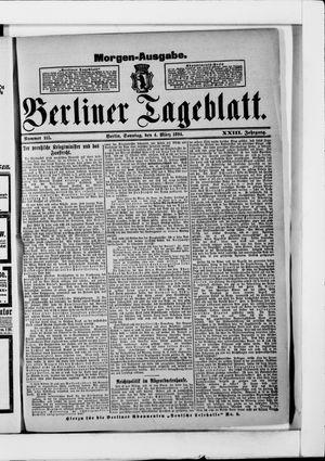 Berliner Tageblatt und Handels-Zeitung vom 04.03.1894