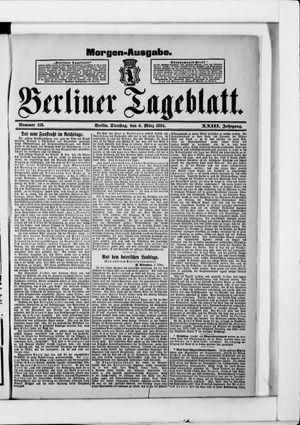 Berliner Tageblatt und Handels-Zeitung vom 06.03.1894