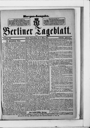 Berliner Tageblatt und Handels-Zeitung vom 08.03.1894