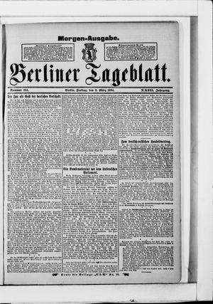 Berliner Tageblatt und Handels-Zeitung vom 09.03.1894
