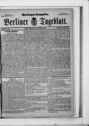 Berliner Tageblatt und Handels-Zeitung vom 12.03.1894