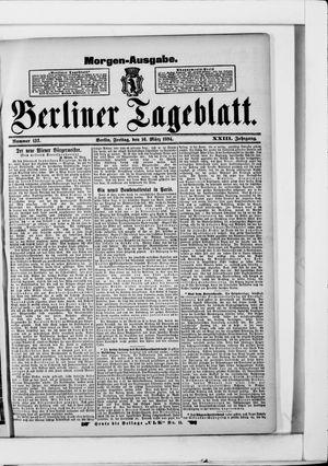 Berliner Tageblatt und Handels-Zeitung vom 16.03.1894