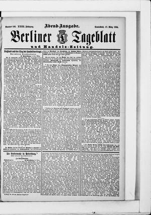 Berliner Tageblatt und Handels-Zeitung vom 17.03.1894