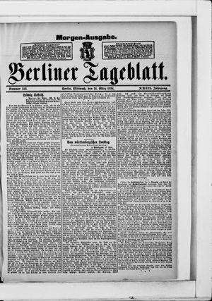 Berliner Tageblatt und Handels-Zeitung vom 21.03.1894