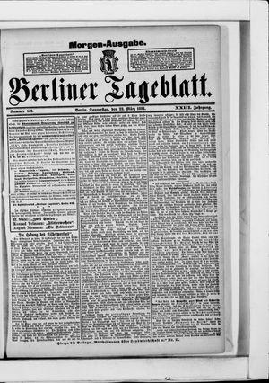 Berliner Tageblatt und Handels-Zeitung vom 22.03.1894