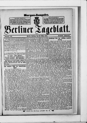 Berliner Tageblatt und Handels-Zeitung vom 23.03.1894