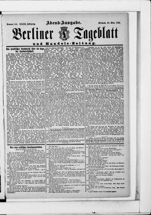 Berliner Tageblatt und Handels-Zeitung vom 28.03.1894