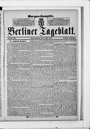 Berliner Tageblatt und Handels-Zeitung vom 30.03.1894