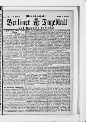 Berliner Tageblatt und Handels-Zeitung vom 02.05.1894