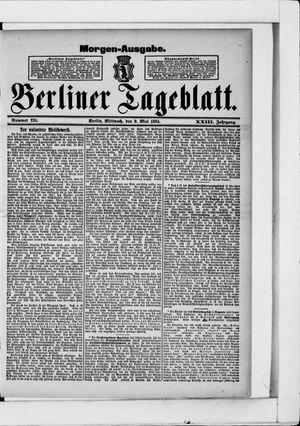 Berliner Tageblatt und Handels-Zeitung on May 9, 1894