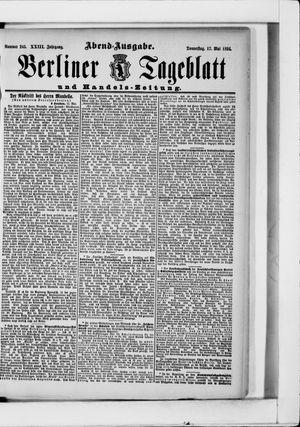 Berliner Tageblatt und Handels-Zeitung vom 17.05.1894