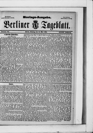 Berliner Tageblatt und Handels-Zeitung vom 21.05.1894
