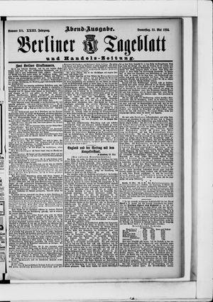 Berliner Tageblatt und Handels-Zeitung vom 31.05.1894