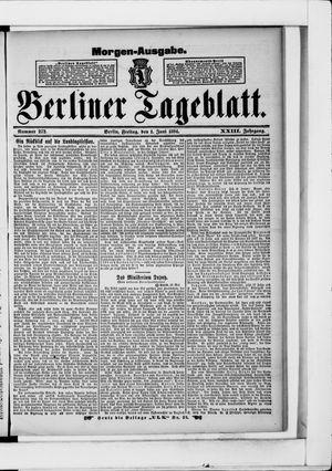 Berliner Tageblatt und Handels-Zeitung vom 01.06.1894