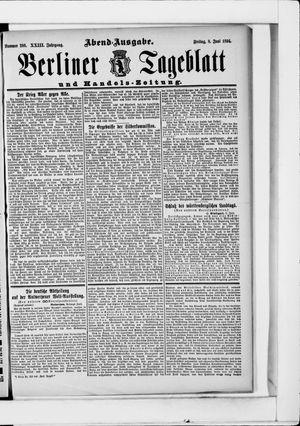 Berliner Tageblatt und Handels-Zeitung vom 08.06.1894