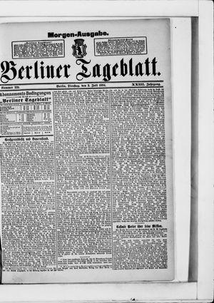 Berliner Tageblatt und Handels-Zeitung vom 03.07.1894