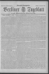 Berliner Tageblatt und Handels-Zeitung (18.12.1894)
