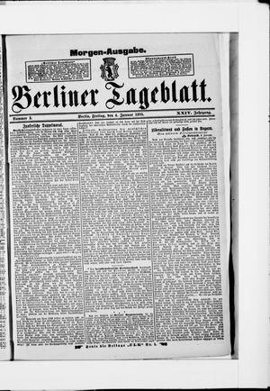 Berliner Tageblatt und Handels-Zeitung vom 04.01.1895
