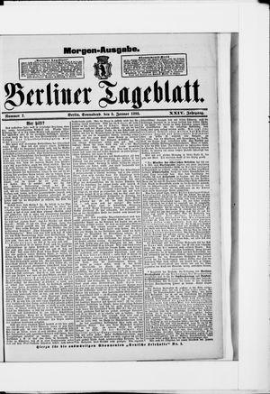 Berliner Tageblatt und Handels-Zeitung vom 05.01.1895