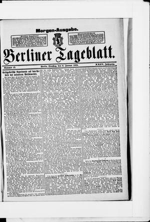 Berliner Tageblatt und Handels-Zeitung vom 08.01.1895