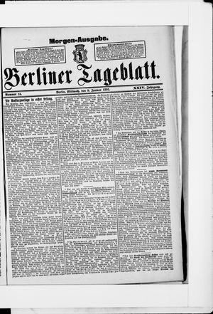 Berliner Tageblatt und Handels-Zeitung on Jan 9, 1895