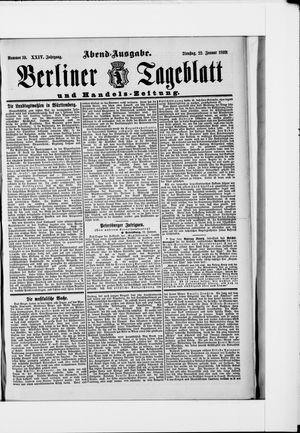 Berliner Tageblatt und Handels-Zeitung vom 22.01.1895