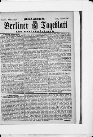 Berliner Tageblatt und Handels-Zeitung vom 01.02.1895