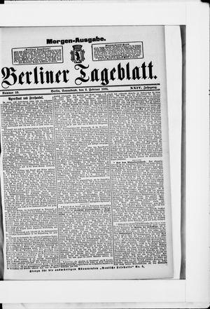 Berliner Tageblatt und Handels-Zeitung vom 02.02.1895