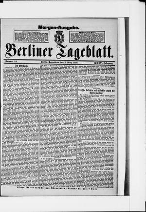 Berliner Tageblatt und Handels-Zeitung on Mar 2, 1895