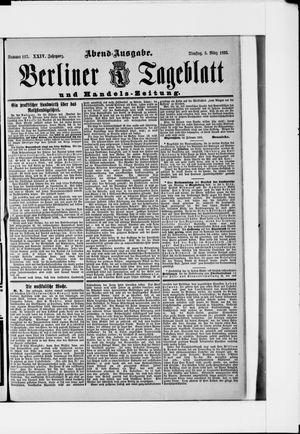 Berliner Tageblatt und Handels-Zeitung vom 05.03.1895