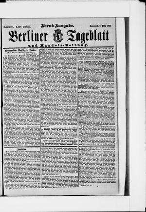 Berliner Tageblatt und Handels-Zeitung vom 09.03.1895