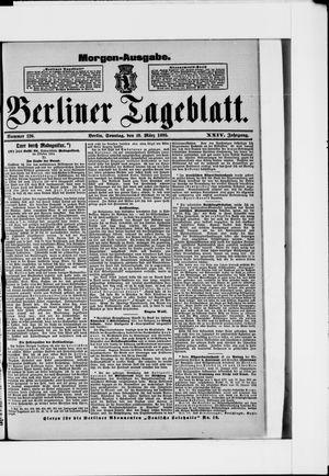 Berliner Tageblatt und Handels-Zeitung vom 10.03.1895